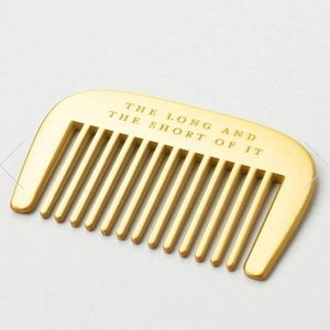 "Izola Beard comb ""The long and the short of it"""